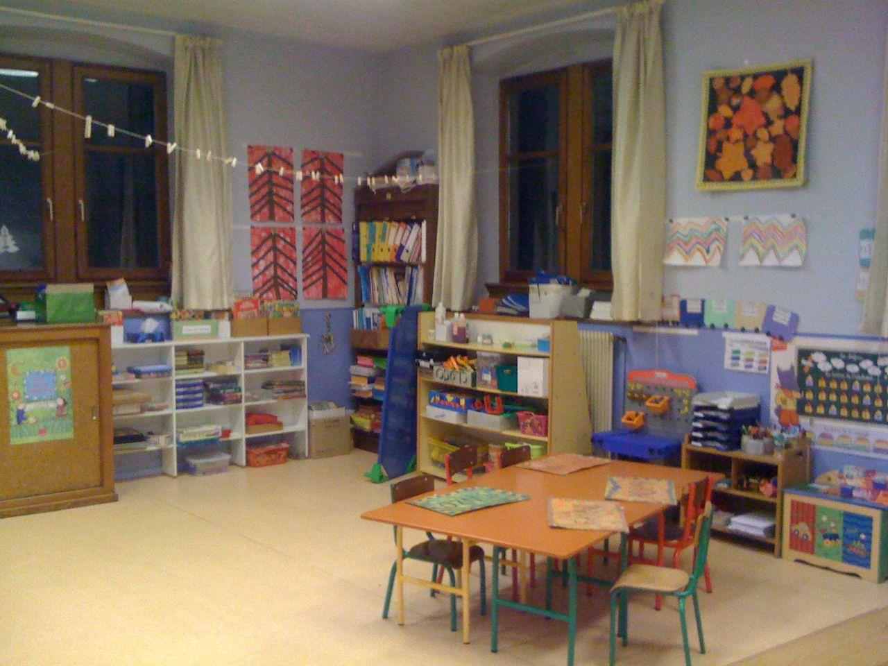 Pr sentation de l cole - Image classe maternelle ...