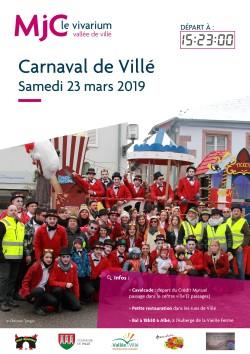 Affiche - Carnaval de Villé 20192