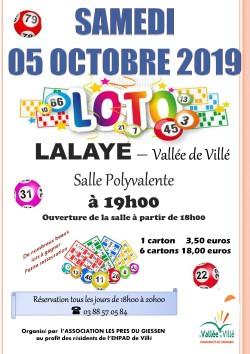 affiche loto 2019 2