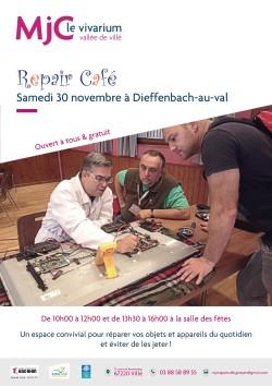 Affiche Repair café nov 2